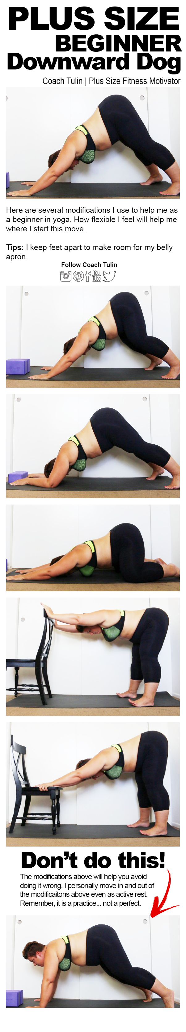 Downward Dog Modifications